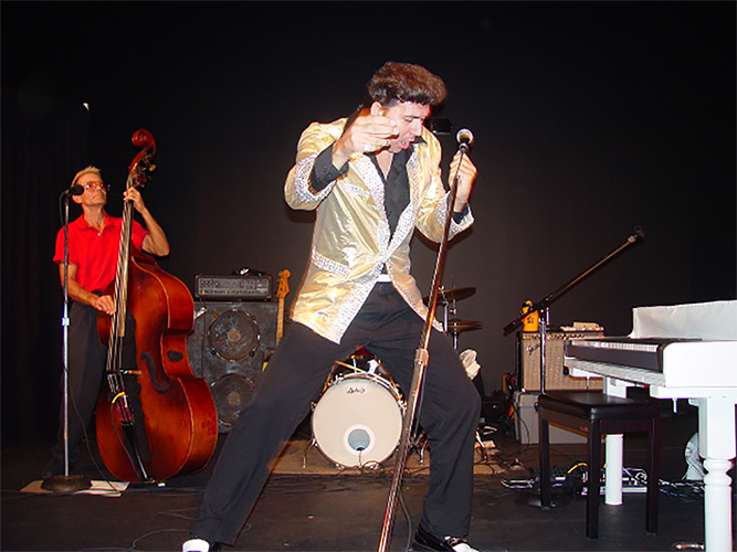 Marino as Elvis